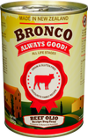 Bronco's Olios Beef And Vegetable Canned Dog Food 390g - Pet Glorys