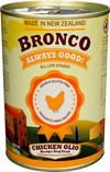 Bronco's Olios Chicken And Vegetable Canned Dog Food 390g - Pet Glorys