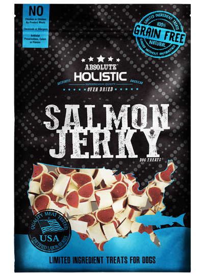 [BUNDLE OF 3 MIXABLE] Absolute Holistic Grain Free Salmon Dog Treats