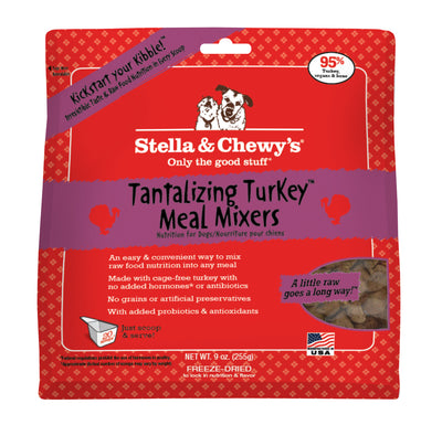 Stella & Chewy's Tantalizing Turkey Meal Mixers Freeze-Dried Dog Food
