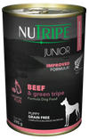Nutripe Classic Beef & Green Trip with GLM Canned Dog Food 390g