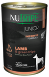 Nutripe Classic Lamb & Green Trip with GLM Canned Dog Food 390g