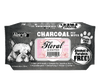 Absorb Plus Charcoal Floral Scented Pet Wipes - Pet Glorys