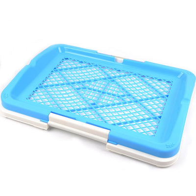 Honey Care Pee Tray With Column - Blue