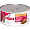 Hill's Science Diet Adult Light Liver & Chicken Entree Cat Food - Pet Glorys