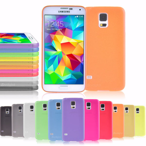 NEW 0.3mm Ultra Thin Hard Shell Matte Snap On Cases Cover For Samsung Galaxy S5