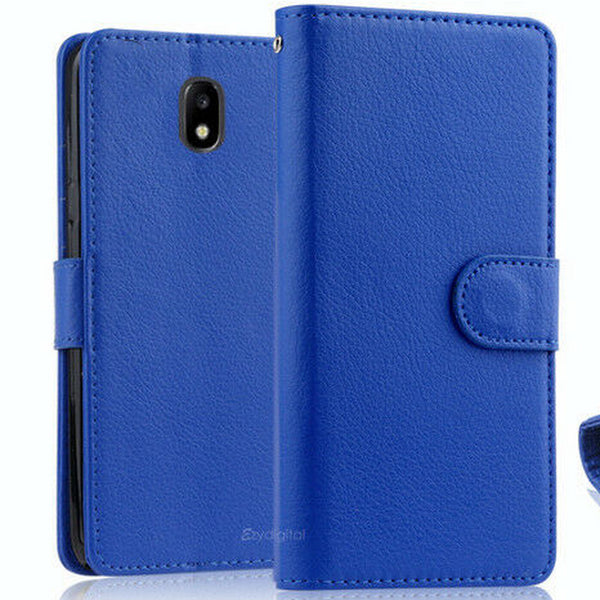 For Samsung Galaxy J2 Pro / J5 Pro /J7 Pro Leather Phone Wallet Flip Case Cover