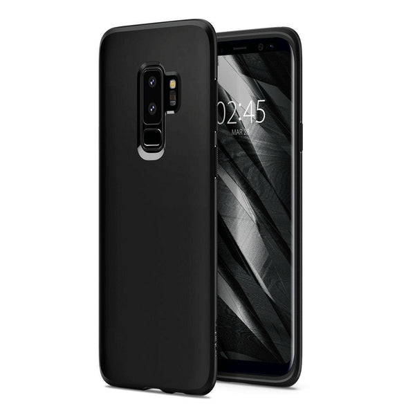 Case Cover For Samsung Galaxy Note 9 S9 Plus Premium Black Matte TPU Gel