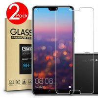 2 PACK Premium 9H Tempered Glass Screen Protector HUAWEI Y5 2018 & Y6 2018