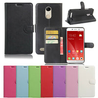 Premium Leather Wallet Case Cover for Telstra 4GX Premium A602 / ZTE Blade A602