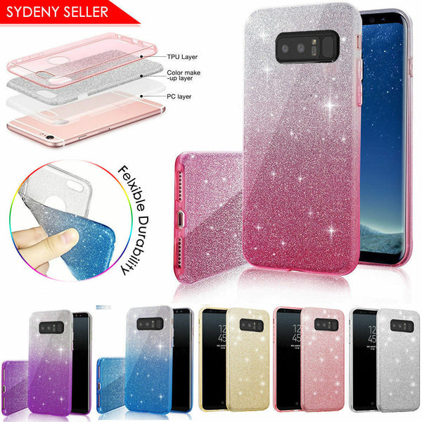 Extremely Sparkly Bling Glitter Case For Samsung Galaxy S9 Plus Note 8 J5 J2 Pro