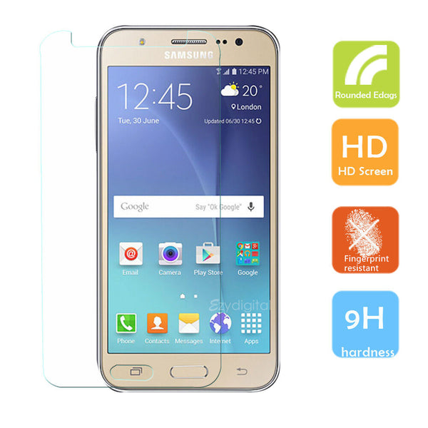 9H Tempered Glass Film Screen Protector for Samsung Galaxy J7 Pro