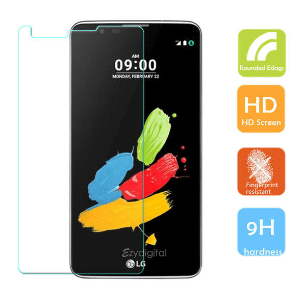 Tempered Glass Film Screen Protector for LG Stylus DAB+
