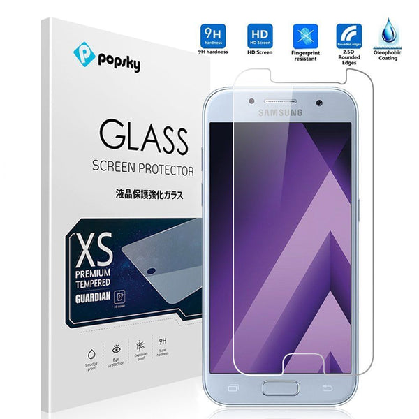 New Tempered Glass Film Screen Protector for Samsung Galaxy A3 2017