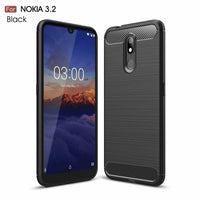 Case Cover Anti Knock NOKIA 2.2 3.2 6.2 7.2 Shockproof Protective Carbon TPU