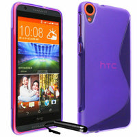 S CURVE GEL TPU CASE COVER FOR New HTC Desire 820 820T