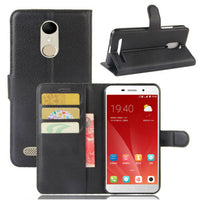 Premium Leather Wallet Case Cover Telstra 4GX Premium A602/ZTE Blade A602