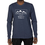 Men's Long Sleeve T-shirt - Thin Air Culture, Love it Respect it Protect it design