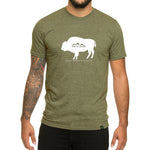 American Bison-Love it Respect it Protect it - Men's T-shirt