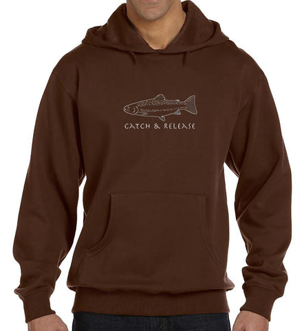 Eco-Hoodie - Catch & Release design