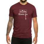 Climb On design- Men's T-shirt