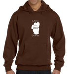 Eco-Hoodie - Lake Tahoe graphic design.