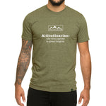 Altitudinarian design - Men's T-shirt