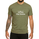 Play Outside design - Men's T-shirt