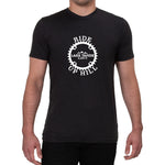 Ride Up Hill Lake Tahoe - Men's T-shirt