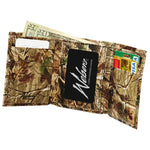 Webers Leather Tri-Fold Wallet Realtree AP