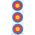 Maple Leaf Vertical Target 3-Spot 25 pk. | Maple Leaf Press