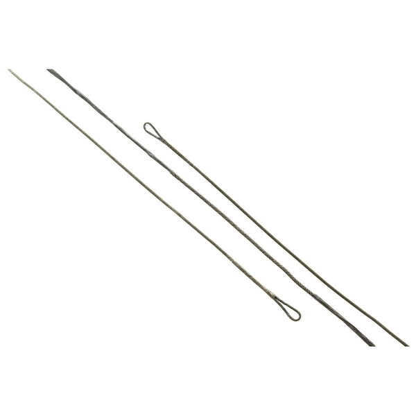 J and D Teardrop Bowstring Black B50 35 in. 14 Strand