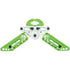 Pine Ridge Kwik Stand Bow Support White-Lime Green | Pine Ridge