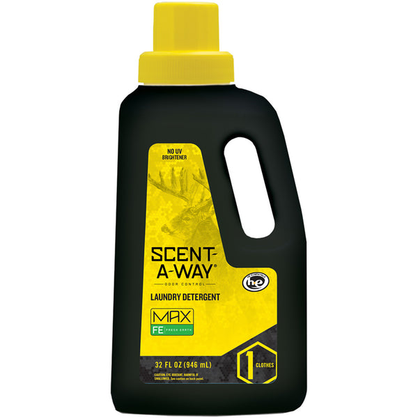 Scent-A-Way MAX Detergent Fresh Earth 32 oz.