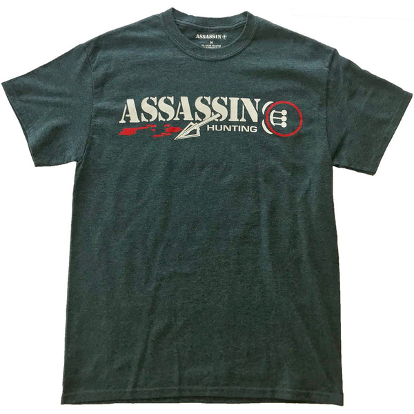 Assassin T-Shirt Bloodtrail Charcoal 2X-Large | Assassin