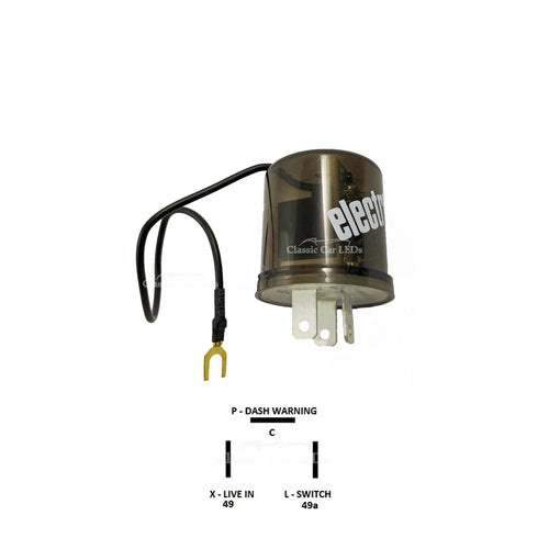 ELECTRICAL - FLASHER RELAY - LED COMPATIBLE