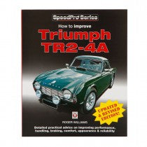 BOOK - TRIUMPH TR2 TO TR4A - HOW TO IMPROVE
