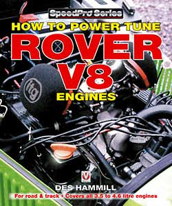 BOOK - ROVER V8 - HOW TO POWER TUNE