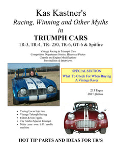 BOOK - TRIUMPH - RACING WINNING & OTHER MYTHS