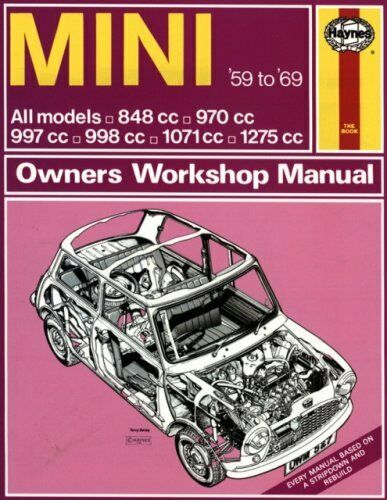 BOOK - CLASSIC MINI - WORKSHOP MANUAL 1959-69