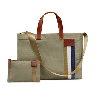 Stylish every day tote bag with free zipped purse