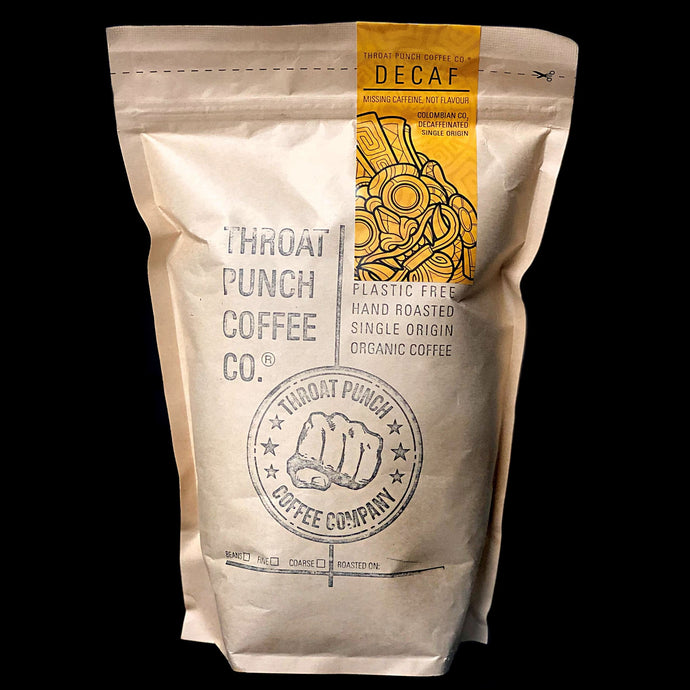 500g Colombian CO2 Decaf Single Origin Strong Tasting Coffee