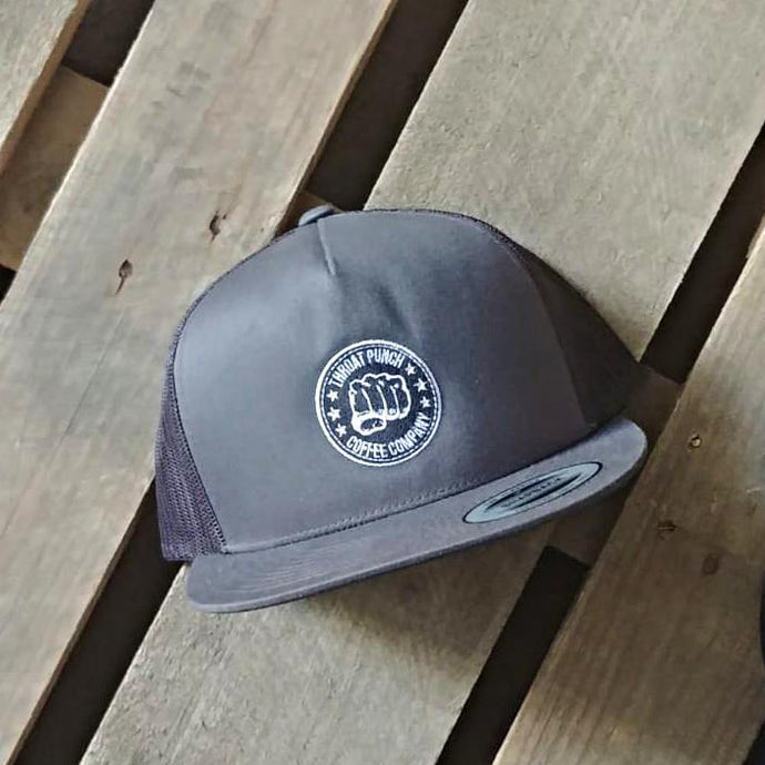 Trucker Cap - Strong Coffee UK - Throat Punch Coffee Co.