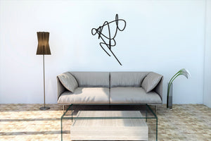 Wall Art decor - Sonoe Metal wall art. אמנות מתכת לקיר
