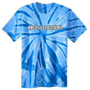 Ticket Shirt - Blue Tie Dye