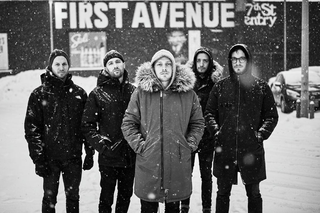 Architects outside First Avenue, Minneapolis.
