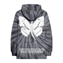 Load image into Gallery viewer, Butterfly Dagger Tie Dye Hoodie