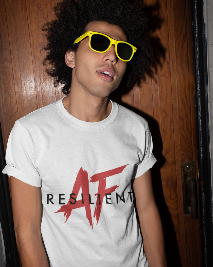 Resilient AF White Tee