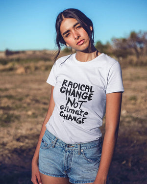 Radical Change White Tee