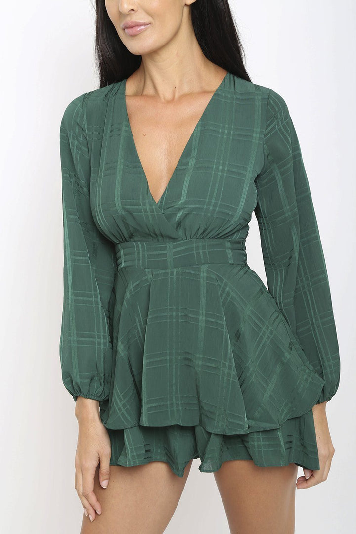 Summer Playsuit in Green
